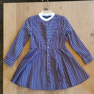Polo by Ralph Lauren Striped Dress Size 4/4T
